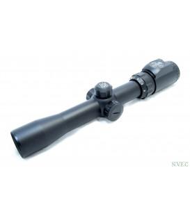 Оптический прицел Combat 3-9x32 EGZ (30мм) (2-х цв.подсветка - красная и синяя)  сетка - MilDot, нивелир с подсветкой