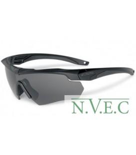 Очки защитные стрелковые  Crossbow One Polarised (тактические очки, затемненная серая линза с антибликовым покрытием для более к