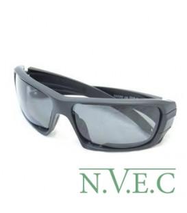 Очки Rollbar Black (очки с усиленной оправой в комплекте: прозрачные и затемненные линзы цвет черный) 9018-03