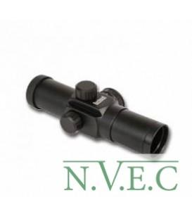 Оптический прицел Bushnell 1x28 mm, 6 MOA Dot, with rings,Matte black , Clam