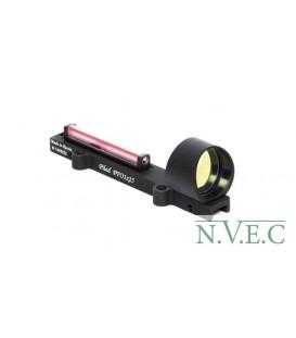 Коллиматорный прицел PFO 1х25 (со световодом)(Сетка: круг)