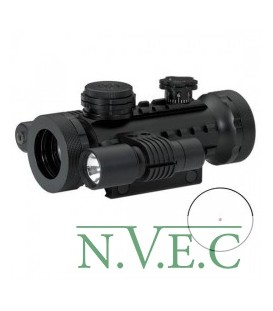 Оптический прицел BSA Stealth Tactical Range , 30 mm, Cross, Weaver