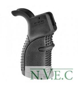 Рукоятка пистолетная FAB Defense прорезиненная для M16\M4\AR15, ц:black