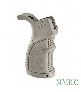Рукоятка пистолетная FAB Defense прорезиненная для M16\M4\AR15, ц:desert tan (coyote tan)