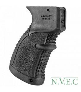 Рукоятка пистолетная FAB Defense прорезиненная для АК-47/74, Сайга ц:black