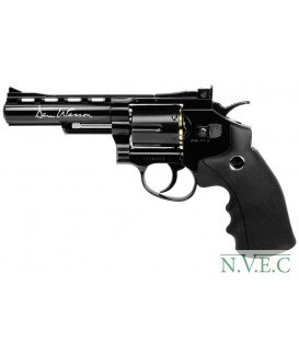 "Револьвер пневматический ASG Dan Wesson 4"" Black 4,5 мм"