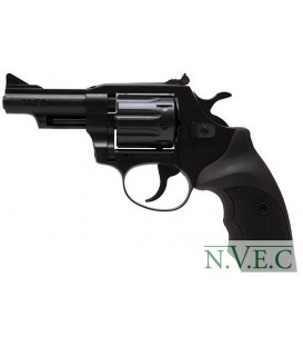 Револьвер флобера Alfa mod.441 4 мм ворон/пластик
