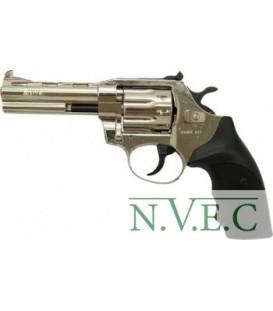 Револьвер флобера Alfa mod.441 4 мм никель/пластик