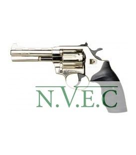 Револьвер флобера Alfa мод 441 никель пластик, регулир. целик 4 мм
