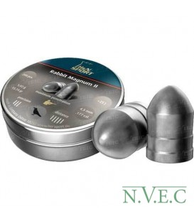 Пули пневматические H&N Rabbit Magnum II, 200 шт/уп, 1,00 гр 4,5 мм