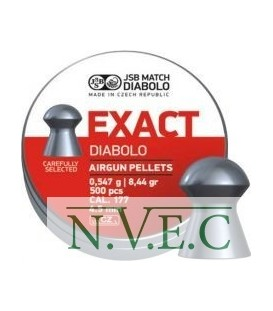 Пули пневматические JSB Diablo Exact 4,53 мм 0,547 гр. (500 шт/уп)