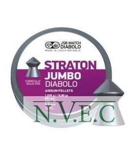 Пули пневматические JSB Diablo Jumbo Straton 5,5 мм 1,030 гр. (500 шт/уп)