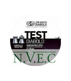 Пули пневматические JSB Diablo TEST для винтовки 4,5 мм 0,520; 0,535 гр. (350 шт/уп)