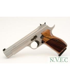 Пистолет пневматический SAS P 210 Silver Blowback! 4,5 мм 120 м/c