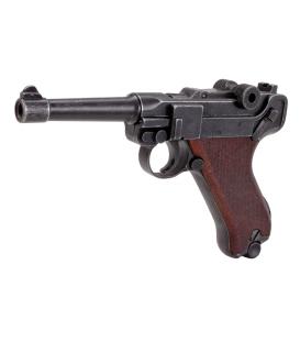Пистолет стартартовый  ME Luger P-08 9 мм