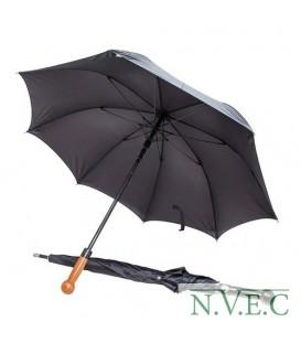 Зонт Krisenvorsorge & Sicherheit UG мужской,рукоять шар. под дерево