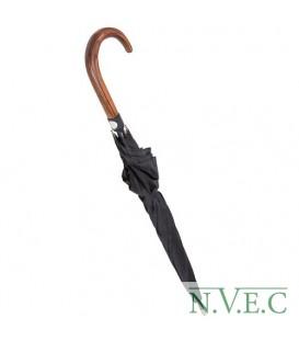 Зонт Krisenvorsorge & Sicherheit UG мужской,рукоять крюк. под дерево
