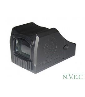 Оптический прицел Shield CQS 4МОА, колл, .мет.корпус, крышка, с батар., крепл. на Пиктинни