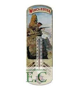 Термометр Riversedge Winchester Hunt Tin Therm. 43*13 см, Охотник