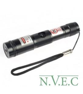 Зеленый лазер, фокусируемый BOB Laser BGP-3998 (532nm, 300mW, 1xCR123A)