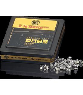 Пули пневматические RWS R10 Match Plus винтовочные кал. 4,5 мм 0,53 г  (100 шт./бан.) (100 шт./уп.)