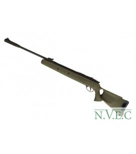 Пневматическая винтовка HATSAN 125 TH OD   (пластик, ортопед.приклад, олива,  поч.скорость 380 м/с, ласт. Хвост)