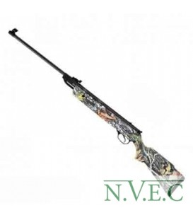 Пневматическая винтовка HATSAN 90 САМО (пластик, камуфляж,поч. скорость 305м/с, ласт. хвост)
