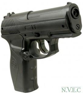 Пневматический пистолет CROSMAN С 11 з кобурою (пистолет, пластик, початкова швидкість 146 м/с, 18 зарядов)