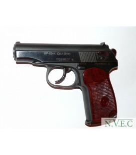 Пистолет пневматический МР 654К (4,5 мм, коричневая рук.)