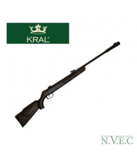 Винтовка пневматическая Kral 008 Syntetic, 4,5 мм надульник-компенсатор