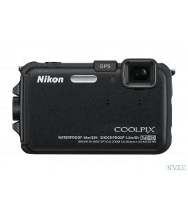 Цифровая фотокамера Nikon COOLPIX AW100 черный