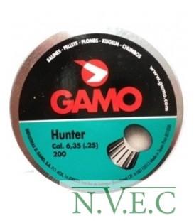 Пульки Hunter 200 шт. кал. 6,35