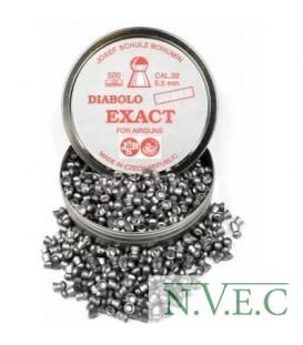 Пульки CZ Diabolo Exact кал.5,5мм 250 шт