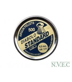 Пульки CZ Diabolo Standard кал.4,5мм 500шт