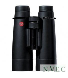 Бинокль Leica Ultravid 12x50 HD (водо и грязеотталкивающее покрытие,азотозаполнены,противоударное рез.покрытие)