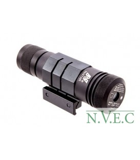 Лазерный целеуказатель NcStar Green Laser, планка Weaver, Black APRLSG
