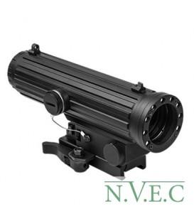 Коллиматорный прицел NcStar 4 X 34mm с светодиодным фонарем VHLO434GB