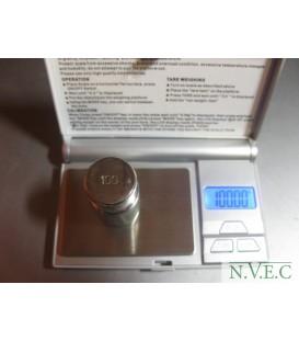 Весы карманные электронные Digital Professional -mini 500гр (погрешность 0,1гр)