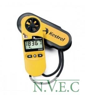 Ветромер Kestrel 3500 ((время,скорость ветра,температура воздуха,воды,снега,…влажность,точка росы)