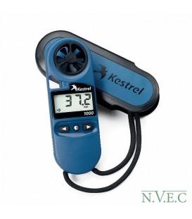 Ветромер Kestrel 1000 (водонепроницаемый,измеряет скорость ветра... максимальную и среднюю)  0810