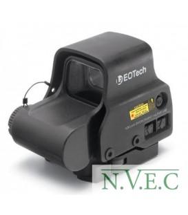 Коллиматорный (голографический) прицел EOTech EOT-EXPS3-2 (1 батарейка CR123, сетка – круг 65 MOA и 2 точки 1 MOA, боковая кнопк