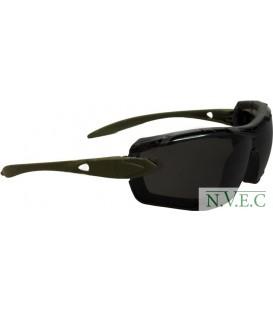 Очки Swiss Eye Detection, 2 комплекта сменных линз, съемная пылевая защита, ц:оливковый