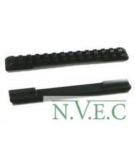 Основание Recknagel на Weaver для установки на Heym SR21/ Heym SR20  сталь (57065-0022)