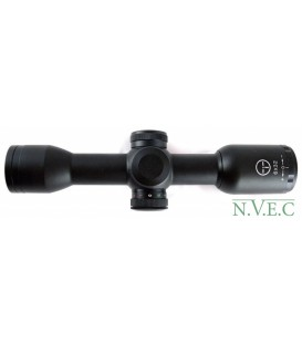 Оптический прицел Target Optic 6x32E Compact, Mil Dot, с подстветкой крас./зел., 25,4 мм
