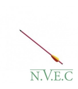 Стрела для винт.арбалета Man Kung MK-AL16R, алюминий, ц:красный