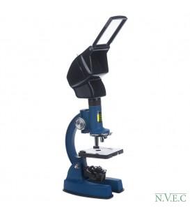 Микроскоп KonuScience 1200x (100-1200 крат, ахромат)