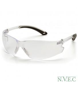 Очки Venture ITEK RVGS 5810S с прозрачными ударопрочными поликарбонатными линзами, с защитой от царапин, обрезиненные дужки