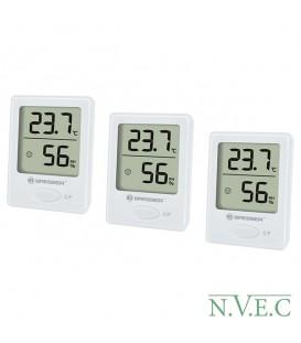 Термометр-гигрометр Bresser Temeo Hygro indicator white