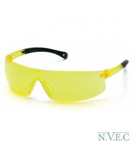 Очки начального уровня  Provoq S 7230S с желтыми ударопрочными поликарбонатными линзами, с защитой от царапин