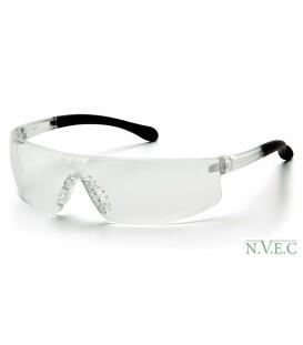 Очки начального уровня Provoq S7210S с прозрачными ударопрочными поликарбонатными линзами, с защитой от царапин